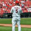 Stock Photo: Albert Pujols at Busch Stadium