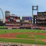 Panoramic view of Busch Stadium — Stock Photo #13167529
