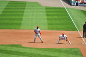 Baseball at Busch Stadium — Stock Photo