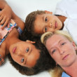 Mother and children — Stock Photo #13215385
