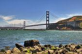 Golden Gate Bridge in San Francisco — Stock Photo
