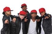 Hip Hop style dancers — Stock Photo