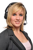Young customer service representative — Stock Photo