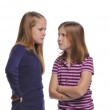 Two girl resolving a conflict — Stock Photo #13910639