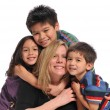 Mother and children — Stock Photo #13911075