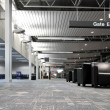 Airport terminal interior - Stock Photo