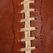 Football close up - Stock Photo