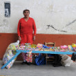Street vendor in Northern Peru — Stock Photo #13911225