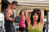 Working out — Stock Photo