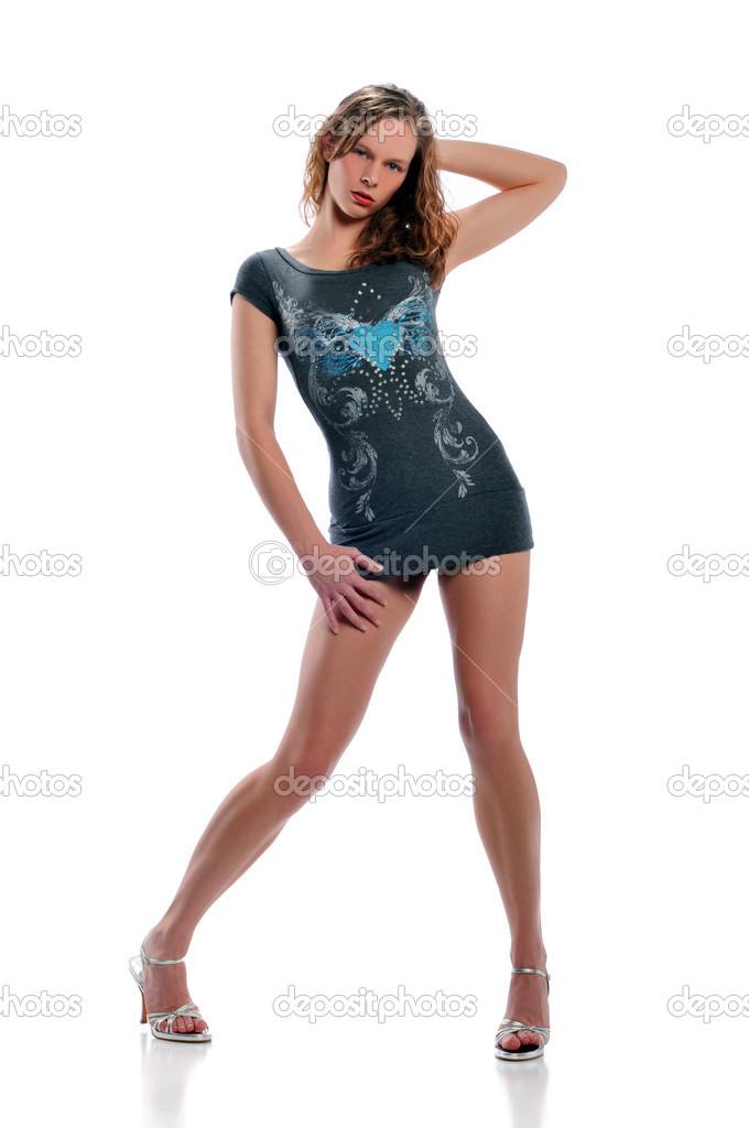 model beautiful teen fashion