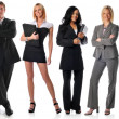 Royalty-Free Stock Photo: Group of businesspeople standing