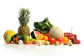Colorful fruits arranged in a group — Stock Photo