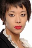 портрет молодой женщины в азии — Стоковое фото