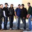 Stock Photo: Diverse group of male students