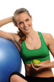Young Attractive woman working out — Stock Photo