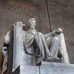 Abraham Lincoln memorial — Stockfoto