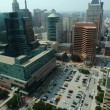 Aerial view of Dowtown Baltimore — Stock Photo #14573675