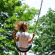 Young Girl on a swing — Stock Photo #14984623