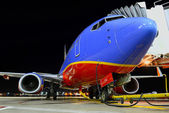 Southwest Airlines Airplane — Stock Photo