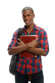 Young Black Student — Stockfoto