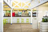 Tropical beach bar — Stock Photo