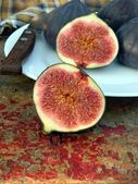 Cuted figs — Stock Photo