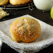 Stok fotoğraf: Rolls honey - Apple
