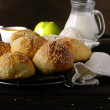 Rolls honey - Apple — Stockfoto