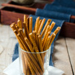 Crispy straw — Stock Photo