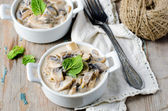 Mushrooms stew — Stock Photo