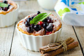 Cottage cheese souffle — Stock Photo