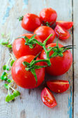 Taze domates — Stok fotoğraf
