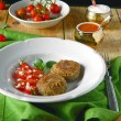 Eggplant Cutlets from liver — Stock Photo #23066548