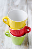 Colored cups — Stock Photo