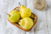 Fresh pears — Stockfoto