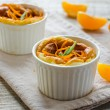 Orange souffle — Stock Photo