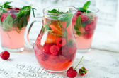 Berry lemonade — Stock Photo