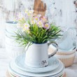 Stock Photo: Ceramic tableware