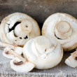 Stock Photo: Fresh champignons