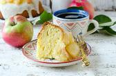 Apple cake — Stock Photo