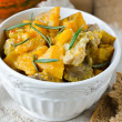 Meat stew with pumpkin — Foto Stock