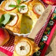 Apple pie with cinnamon — Foto de Stock