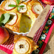 Apple pie with cinnamon — Stok fotoğraf