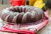 Chocolate Pumpkin Cake — Stock Photo