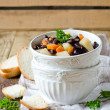 Stock Photo: Thick soup with beans