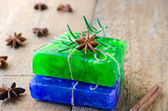 Homemade soap — Stock Photo