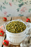 Boiled mung beans — Stock Photo