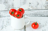 Fresh tomatoes — Stockfoto