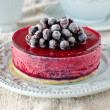 Berry cheesecake on plate — Foto de stock #39316337