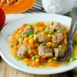 Curry with pumpkin and corn — Stock Photo #41860643
